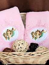 Комплект полотенец ТомДом Бовино полотенца подушкино полотенце вита цвет голубой 50х90 см 70х140 см