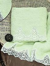 Комплект полотенец ТомДом Тревико (салатовое)