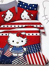 Постельное белье ТомДом Хелло Китти (флаг) развивающие игры хелло китти