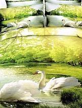 Постельное белье ТомДом Лебеди постельное белье томдом весенний сад