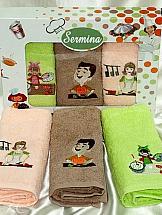 Комплект полотенец ТомДом Куки