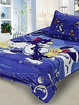 Фото - Покрывало ТомДом Том и Джерри (синий) покрывало camomilla покрывало детское том и джерри синее 155 200 см