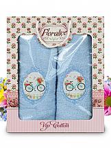 Комплект полотенец ТомДом Амплит полотенца подушкино полотенце вита цвет голубой 50х90 см 70х140 см