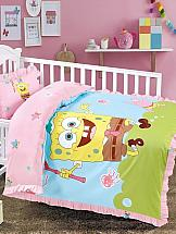 Постельное белье ТомДом Спанч Боб (сачок) одежда для новорожденных девочек фото