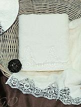 Комплект полотенец ТомДом Тревико (молочное)
