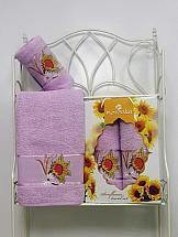 Комплект полотенец ТомДом Панни (сиреневый)