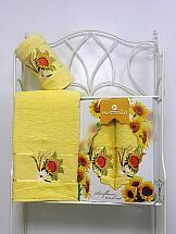 Комплект полотенец ТомДом Панни (желтый)