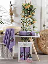 Комплект полотенец ТомДом Куртен (фиолетовый) николай оганесов доктор по имени смерть