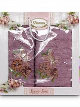 Комплект полотенец ТомДом Арианова (фиолетовый)