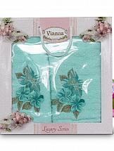 Комплект полотенец ТомДом Арианова (бирюза) цены