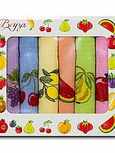 Комплект полотенец ТомДом Валуар (№ 2) набор кухонных полотенец 5 штук karna twist 30x30 5115 char004 зеленый