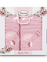 Комплект полотенец ТомДом Томиока (нежно-розовый) стоимость