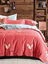 Постельное белье ТомДом I love you постельное белье cotton life love you 70х70 см 1 5 спальное