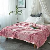 Плед ТомДом Вальдаон (розовый) плед томдом вальдаон темно малиновый