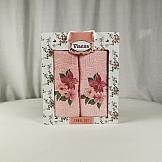 Комплект полотенец ТомДом Юника (нежно-розовый)