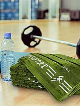 Полотенце ТомДом Стамина (зеленое)