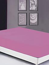 Простынь на резинке ТомДом Серафин (фиолетовая)