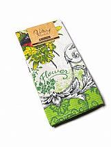Полотенце ТомДом Барокко (зеленый) органайзер для ванной homemaster цвет зеленый 30 х 54 х 0 3 см