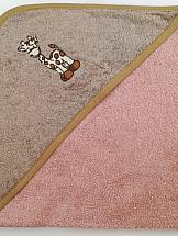 Полотенце ТомДом Жираф (бежевый) полотенце томдом гарвоя бежевый
