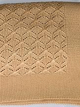 Плед ТомДом Порту плед двуспальный santalino косы 200 220 см серый