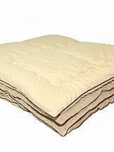 Одеяло ТомДом Геновер одеяло relax wool всесезонное цвет светло бежевый 140 х 205 см