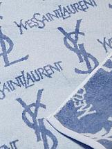 Полотенца ТомДом Ив Сен-Лоран (светло-голубой)