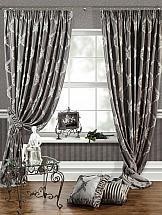 Комплект штор ТомДом Лувр-Ш (серый) все цены