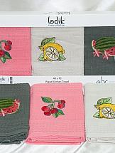 Комплект полотенец ТомДом Фрукты набор полотенец для кухни bonita набор из 2 полотенец для кухни фрукты овощи