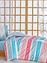 Постельное белье ТомДом Дримс (розово-голубой)