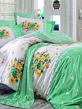 цена Постельное белье ТомДом Элвис (зеленый) онлайн в 2017 году