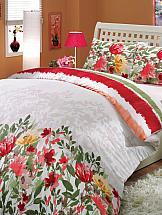 Постельное белье ТомДом Ливиан (красный)