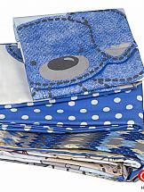 Постельное белье ТомДом Томбик (голубое)