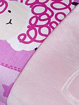 Постельное белье ТомДом Нистор (розовый с покрывалом) постельное белье gelin home с покрывалом esma грязно розовый евро стандарт