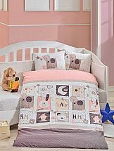 Постельное белье ТомДом Хомми (розовый с одеялом)