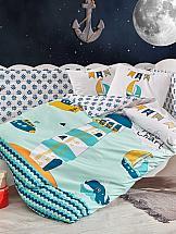 Постельное белье ТомДом Ливисти (голубой) цена и фото