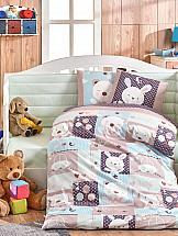 Постельное белье ТомДом Снупи (мятный с одеялом)
