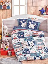 Постельное белье ТомДом Снупи (синий с одеялом)