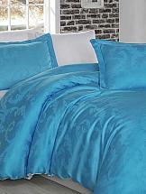 Постельное белье ТомДом Аиша (бело-голубой) цены