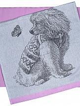 Комплект полотенец ТомДом Колвис (розовый)