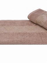 Полотенца ТомДом Галасти (светло-коричневый) пледы hongda textile махровое чудо коричневый широкая полоса