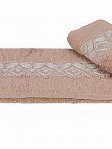Полотенце ТомДом Синдель (коричневый)