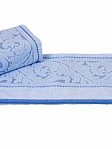 Полотенце ТомДом Сомшель (голубая) полотенце махровое 50х90 см brielle полотенце махровое 50х90 см