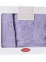 Комплект полотенец ТомДом Крошес (лиловый)