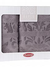Комплект полотенец ТомДом Валния (серый)