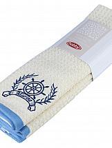 Полотенце ТомДом Самдель (синий) ведро idea цвет марморный 10 л