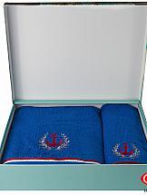 Комплект полотенец ТомДом Бризель (синий) комплект полотенец томдом смиволия синий