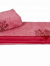 Полотенце ТомДом Муслер (розовый)