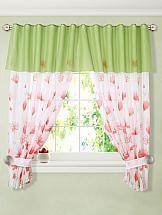 цена на Комплект штор ТомДом Ардин (зеленый)