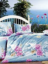 Постельное белье ТомДом Шатель постельное белье экзотика 555 комплект 2 спальный поплин