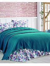 цена Постельное белье ТомДом Олинса (зеленый) онлайн в 2017 году